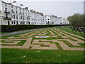 TA1180 : Filey: a maze in the gardens by Chris Downer