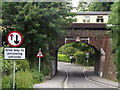 SU5832 : Jacklyns Lane Railway Bridge by Colin Smith