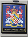 TQ3104 : Sign on The Sir Charles Napier, Southover Street / Southampton Street, BN2 by Mike Quinn