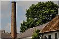 J5371 : Former mill chimney, Cunningburn, Newtownards by Albert Bridge