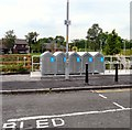 SD8600 : Bike Lockers at Monsall by Gerald England
