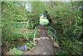 TQ8832 : Footbridge, High Weald Landscape Trail by N Chadwick