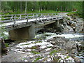 NH2828 : Bridge on the River Affric by Dave Fergusson