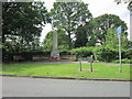 SJ8383 : The War Memorial on Hollin Lane by Ian S