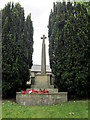 SJ7980 : The War Memorial at Mobberley by Ian S