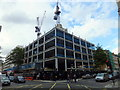 TQ2881 : Construction at 10 Portland Square London by PAUL FARMER