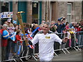 NT5738 : 2012 Olympic Torch Relay Through Earlston - Image #7 : Week 24