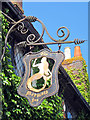 TQ9120 : The Mermaid Inn sign by Oast House Archive