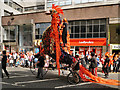 SJ8398 : Manchester Day Parade, Deansgate by David Dixon