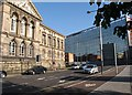 J3474 : Belfast's Custom House and Royal Mail House by Eric Jones