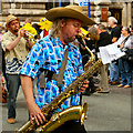 SJ8398 : Manchester Day Parade, 2012 by David Dixon