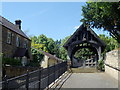 NZ1665 : The Lych Gate, St Michael &amp; All Angels, Newburn by Bill Henderson