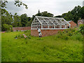SJ8383 : The Small Greenhouse, Quarry Bank Mill Upper Garden by David Dixon