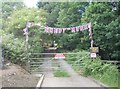 SE2838 : Entrance to Bywater Farm - Ring Road, Meanwood by Betty Longbottom