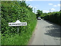 TL8734 : Alphamstone Name Sign by Keith Evans