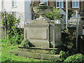 TQ3004 : Monument to Anna Marie Crouch, St. Nicholas' Church, Dyke Road, BN1 by Mike Quinn