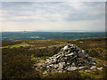 SD5350 : Cairn on Harrisend Fell by Karl and Ali