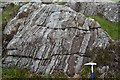 NM3798 : Lewisian Gneiss by Robert Stalham