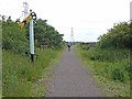 SK8171 : Cycle path, Fledborough Viaduct by Oliver Dixon