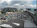 SJ8185 : The view from level 12 Manchester airport terminal 1 car park by Steve  Fareham
