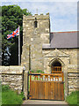 TA0079 : Flying the flag at St Peter's, Willerby by John S Turner