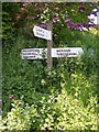 SX6789 : Signpost, Forder Cross by Derek Harper