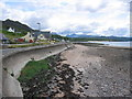 NG8077 : The shore road at Strath Bay by Jennifer Jones
