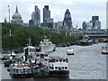 TQ3080 : The Thames and The City by Thomas Nugent