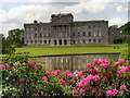 SJ9682 : Lyme Hall and Lake by David Dixon