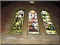 SZ1694 : St Luke, Burton Green: east facing window by Basher Eyre