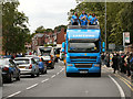SD8204 : 2012 Olympic Torch Procession, Prestwich by David Dixon