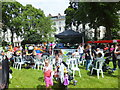 TQ2978 : Stage 2 at SouthWestFest 2012 in St Georges Square Pimlico by PAUL FARMER