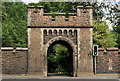 J2285 : Entrance, Castle Upton, Templepatrick by Albert Bridge