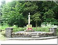 NT5010 : War Memorial near Newmill by jim and liz denham