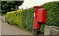 J3082 : Pillar box and drop box, Glengormley, Newtownabbey by Albert Bridge