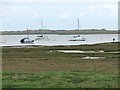 TG0245 : Boats in Blakeney Harbour by Oliver Dixon
