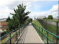 TQ3983 : New ramp to the Greenway by Stephen Craven