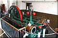 SJ4077 : National Waterways Museum, Ellesmere Port - hydraulic pumping engine by Chris Allen