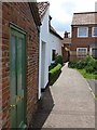 TG0922 : Fishers Alley, Reepham by Oliver Dixon