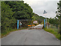 SD9801 : Entrance to Buckton Vale Quarry by David Dixon