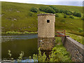 SD9901 : Valve Tower, Cowbury Reservoir by David Dixon