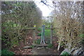 TQ8928 : Stile, High Weald Landscape Trail by N Chadwick