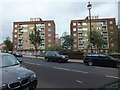 TQ2878 : Buckland and Flaxley Houses, Pimlico by PAUL FARMER