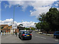 TQ4066 : Traffic in Baston Road by Basher Eyre
