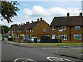TQ5491 : Houses on Dewsbury Road, Harold Hill by Robin Webster