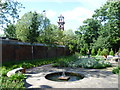 TQ3079 : The herb garden, Lambeth Palace Gardens by Ian Yarham
