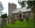 SN9668 : Church of St Clement, Rhayader by John Grayson