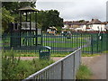 TQ2063 : Playground in Ewell by Colin Smith