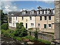 NT5014 : Houses at Mill Port, Hawick by Walter Baxter