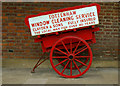 TQ3398 : Handcart on display, Forty Hall by Julian Osley